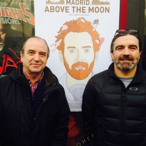 "En el preestreno de ""Madrid, above the moon"""